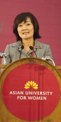 Akie Abe, Japan's First Lady, Joins AUW as Patron